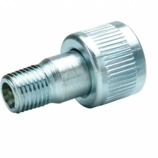"1/4"" NPTF Regular Flow Zinc Plated Coupler, Female"