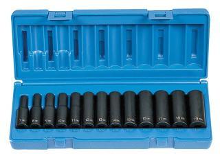 3//8 Drive x 19mm Deep Socket 1019MD Grey Pneumatic