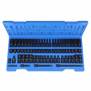 "1/4"" Surface Drive 72 Piece Complete Set"
