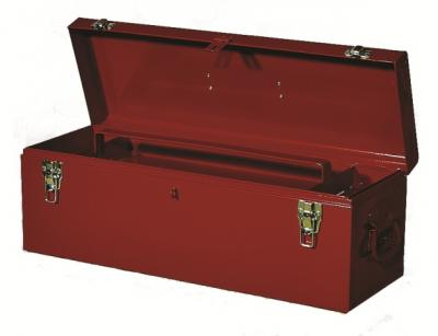 "Tool Box Economy Series Hand Box 26"" x 8-3/4"" x 9"" - Red"