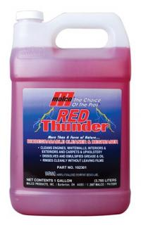 Red Thunder Biodegradable Cleaner and Degreaser, 1 Gallon Jug