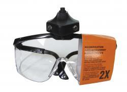 CatsPaw Lighted Magnifying Safety Glasses