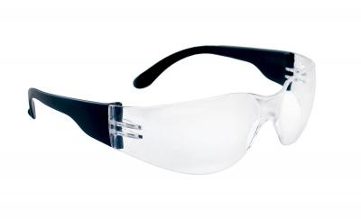 NSX Standard Clear Safety Glasses, Clear Lens