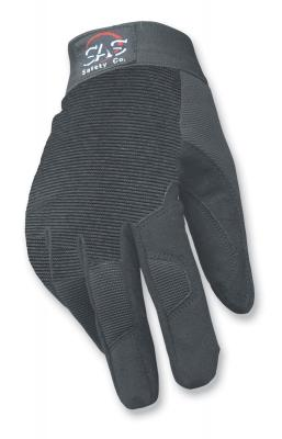 MX Pro-Tool Mechanics Safety Gloves, Solid Black, Large