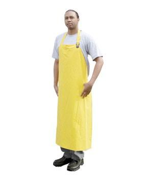 "PVC Apron, 100% Waterproof, 35"" Wide x 47"" Length"