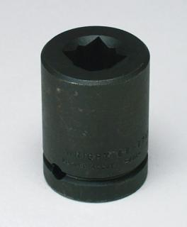 "17mm 3/4"" Dr. Sq. Budd Wheel Metric Impact Socket"
