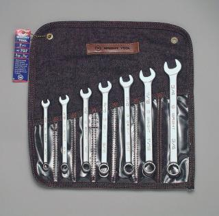 "7 Pc. Combination Wrench Set 3/8"" - 3/4"" 12 Pt."