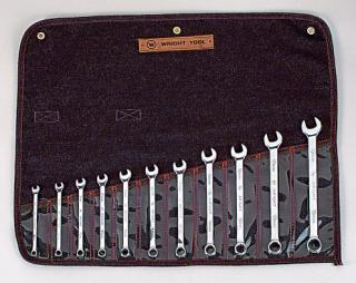 11 Pc. Full Polsih Metric Combination Wrench Set 7mm - 19mm