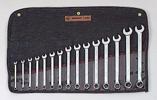 15 Pc. Full Polish Metric Combination Wrench Set