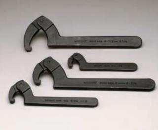 4 Pc. Adjustable Hook Spanner Wrench Set 9630-9633