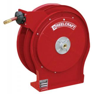 Hose Reel, 3/8 x 50ft , Air/Water with Hose, 300 psi